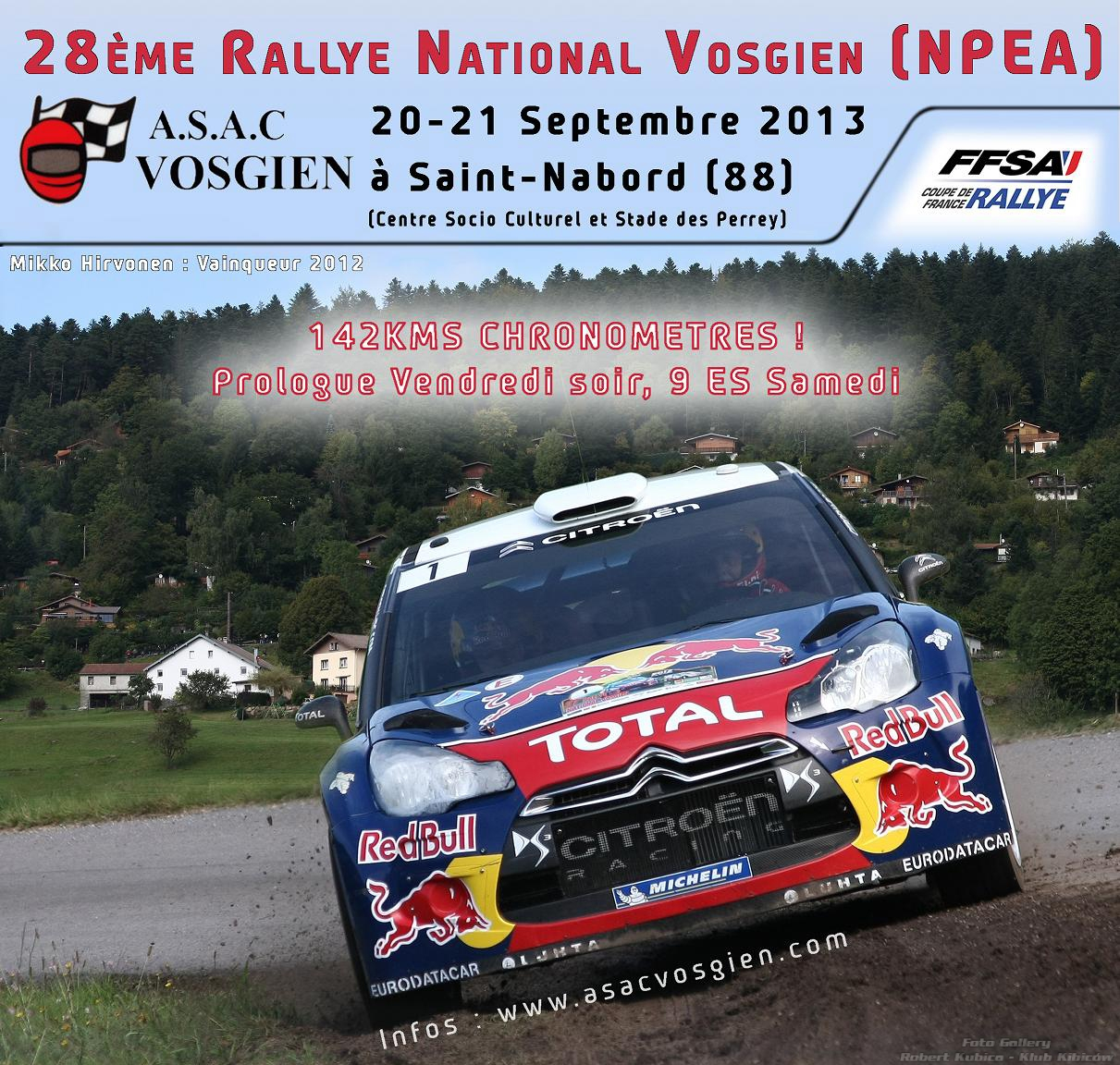 Robert Kubica 51°Rallye National Vosgien