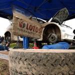 Robert Kubica - testy przed Rajdem Wielkiej Brytanii 2014