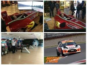 Robert Kubica - MotorShow i Symulator F1