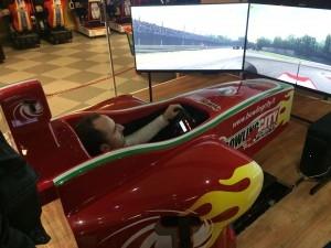 Robert Kubica - Simulator Giantruck SG - BowlingCity - 05