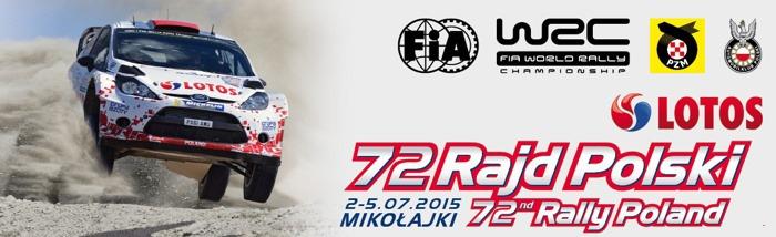 72 Rajd Polski 2015