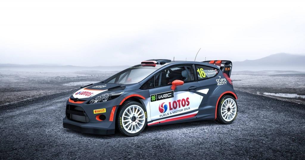 Oficjalne malowanie Forda Fiesty WRC na sezon 2015