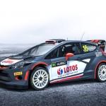 Robert Kubica RK WRT Oficjalne malowanie Forda Fiesty WRC na sezon 2015
