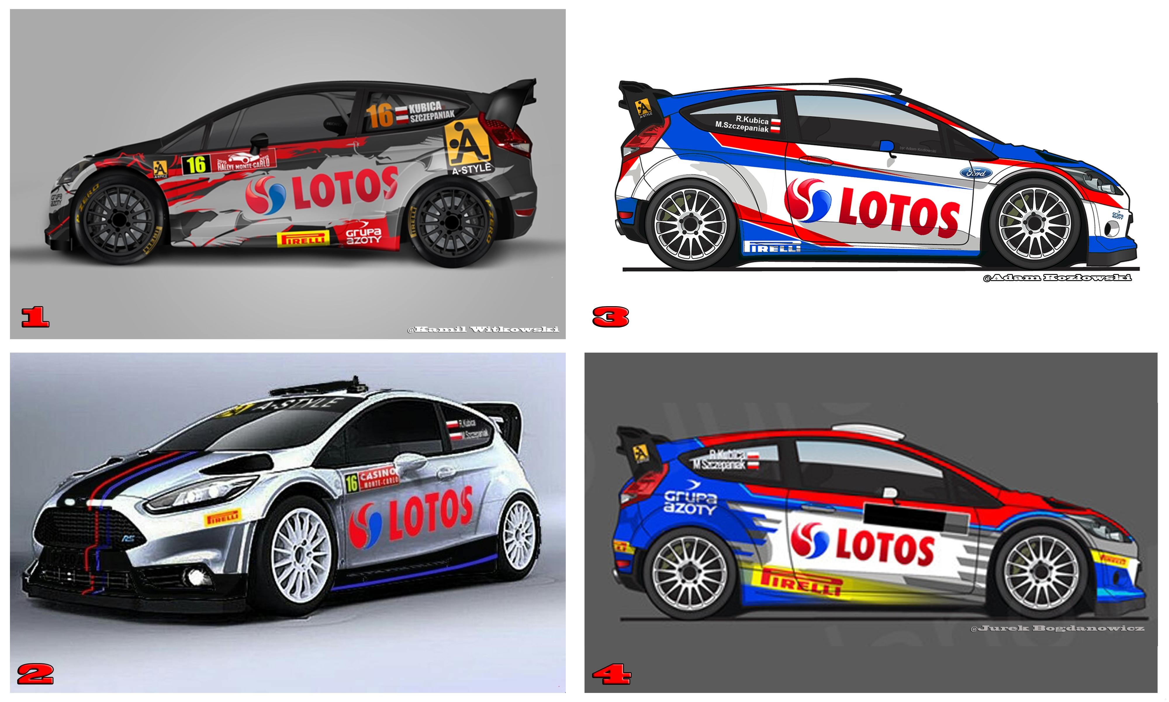 Robert Kubica - Malowanie Ford Fiesta WRC A-Style Pirelli