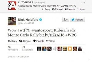 Kubica Leeds Monte Carlo ... -  Nick Heidfeld ..WoW ...