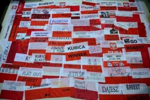 Flagi mini - Robert Kubica