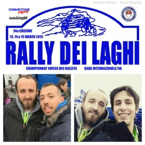 Robert Kubica -Rally dei laghi 2015