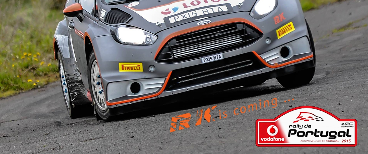 Robert Kubica - Rally de Portugal 2015