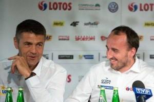 Robert Kubica i Krzysztof Hołowczyc