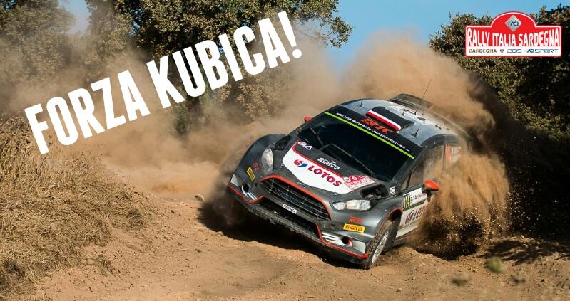 Forza Kubica Rajd Satdynii 2015