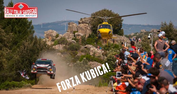 Klub Kibicow - Forza Kubica - Rajd Sardynii 2015