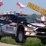 Robert Kubica - Rajd Polski sobota