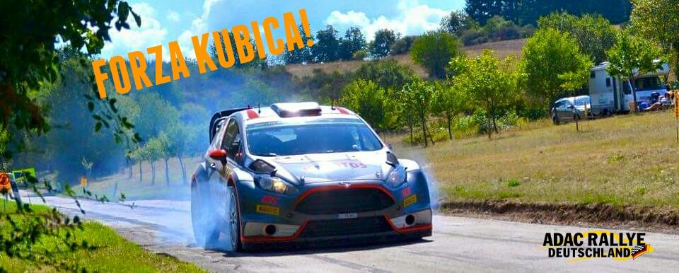 Robert Kubica - Forza Kubica - Piątek - Rajd Niemiec 2015