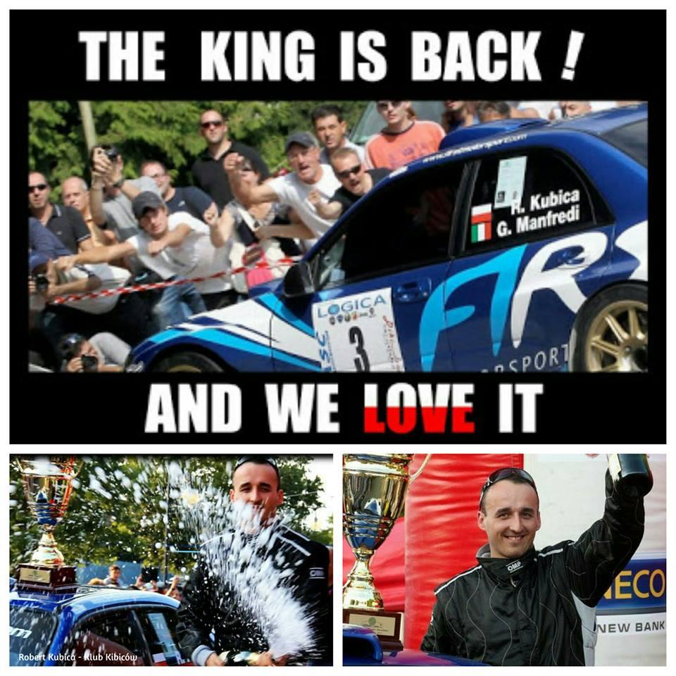 King is Back - The Robert Kubica