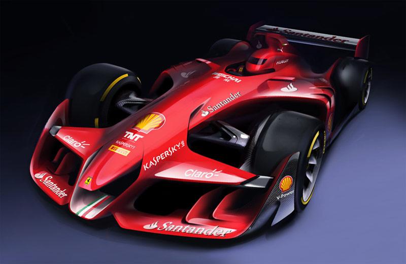 Ferrari-Future-F1-car