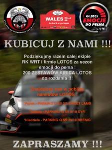 Kubicuj z Nami - Wales Rally GB 2015
