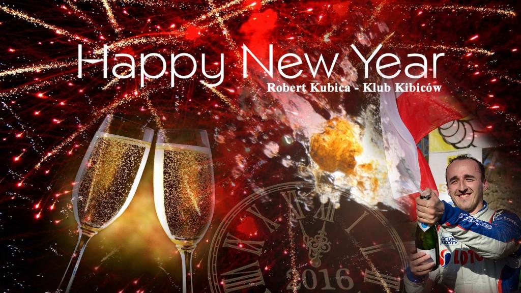 Robert Kubica - Happy New Year 2016 v1
