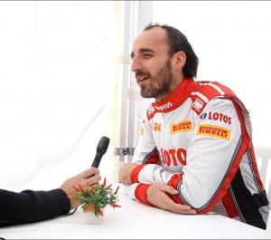 Robert Kubica - wywiad Rajd Monte Carlo 2016