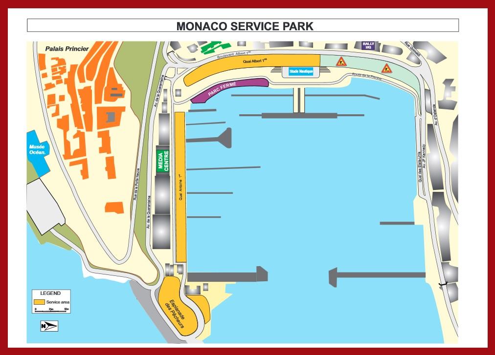 service park Monaco
