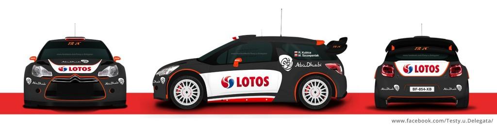 Robert Kubica - Citroen WRC 2016