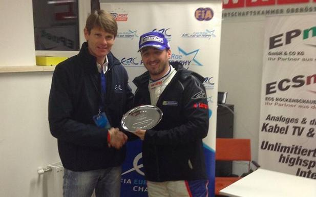 Kubica Colin McRae Flat Out Trophy 2014