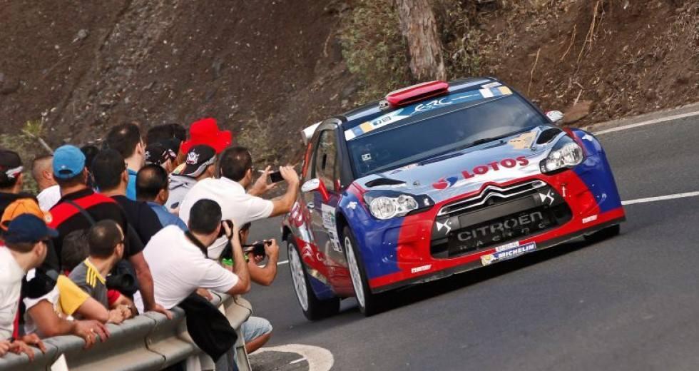 Kubica Rally Islas Canarias ERC