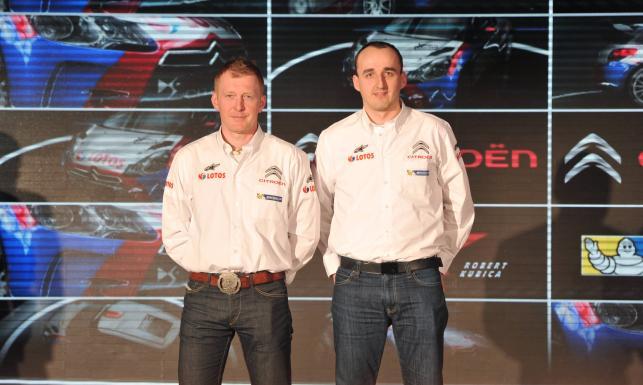 Maciej Baran i Robert Kubica Konferencja 2013