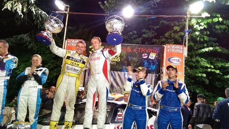 Robert Kubica Przemek Mazur Rally del Casentino 2014