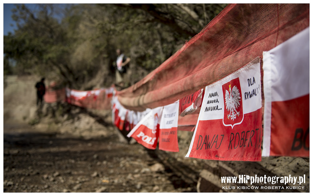 Robert Kubica - twoja flaga jedzie do meksyku 2014