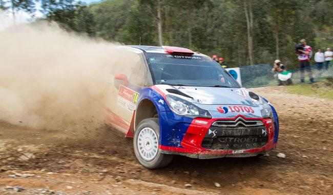 Robert Kubica - Rallye Portugal 2013