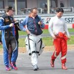 Robert Kubica na torze kartingowym w Lonato 06.04.2016