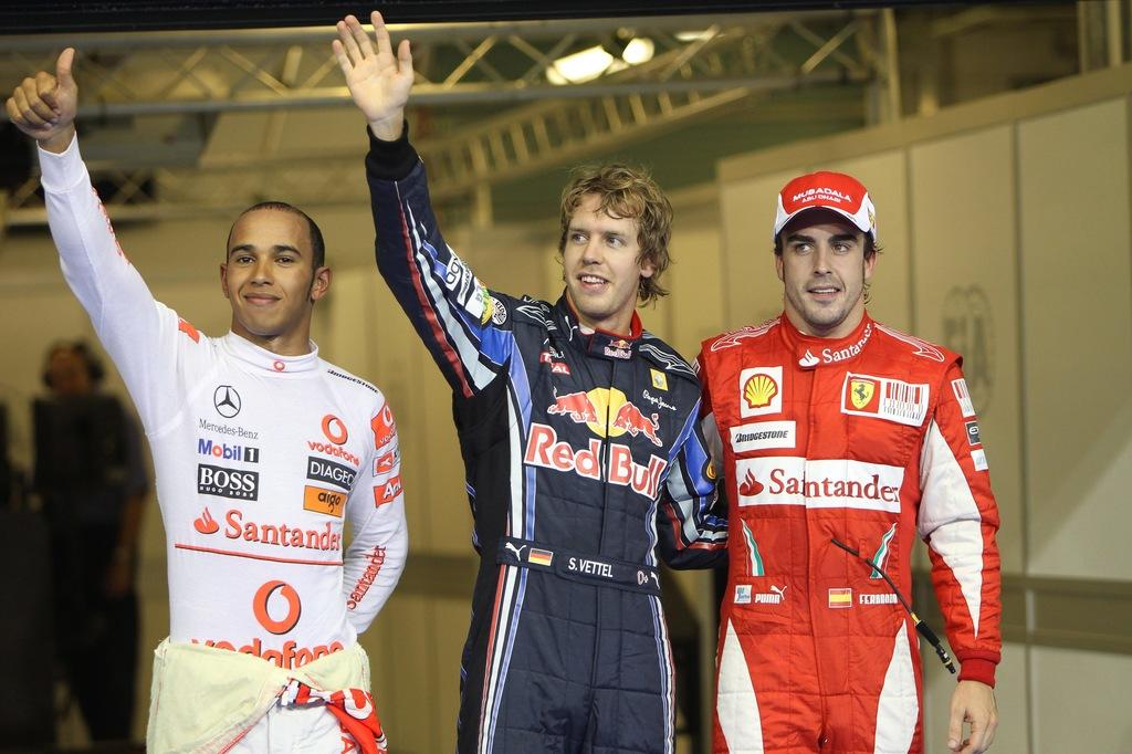 Vette Alonso Hamilton Kubica