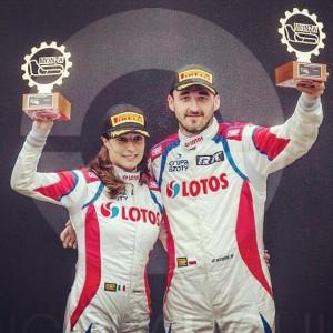 Alessandra Benedetti & Robert Kubica - Monza Rally Show 2014