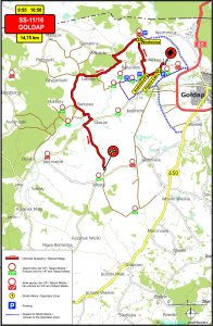 OS11-16 Goldap - 73 Rajd Polski: Rally Poland 2016