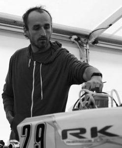 Robert Kubica Karting Adria Raceway