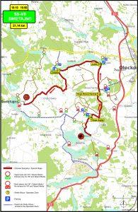 OS4-8 Swietajno - 73 Rajd Polski: Rally Poland 2016