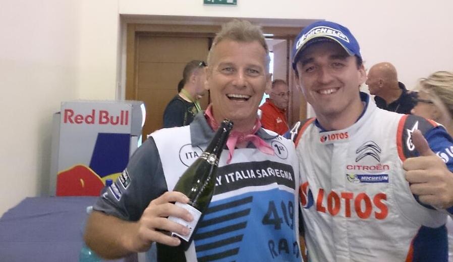 Colin Clark WRC potrzebuje osobowości oraz światowej klasy talentów, a Robert Kubica posiada obie cechy