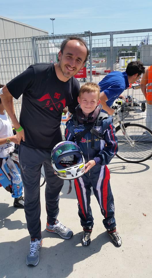 Hubert Laskowski & Robert Kubica - WSK Super Master Karting