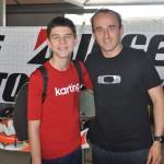 Michael d Orlando & Robert Kubica - Rok Cup Italia 08.05.2016