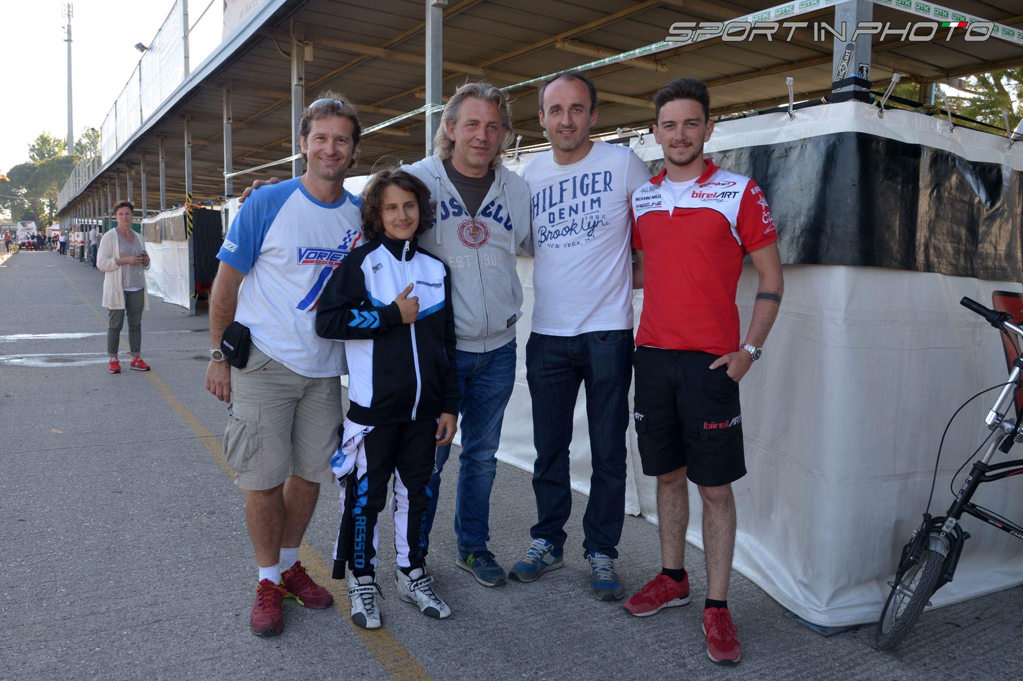 Robert Kubica & Jarno Trulli - Rok Cup Italia 08.05.2016