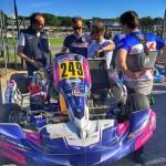 Robert Kubica i Karol Basz - Coatching weekend Rok Cup Italia 2016