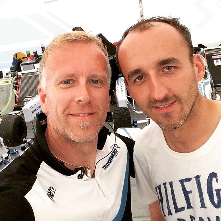 Fredrik Wallberg & Robert Kubica - Karting - Adria International RaceWay 04.06.2016