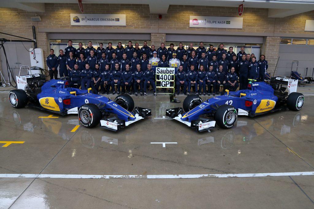Sauber F1 Team 400 GP