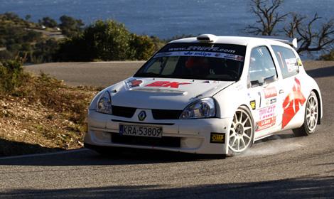Robert Kubica (PL), Jakub Gerber (PL), Renault Clio S 1600