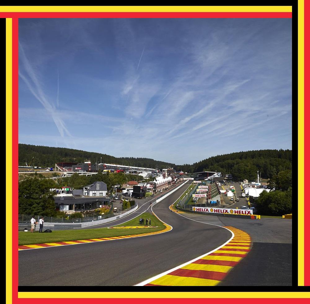 Belgian F1 Spa-Francorchamps