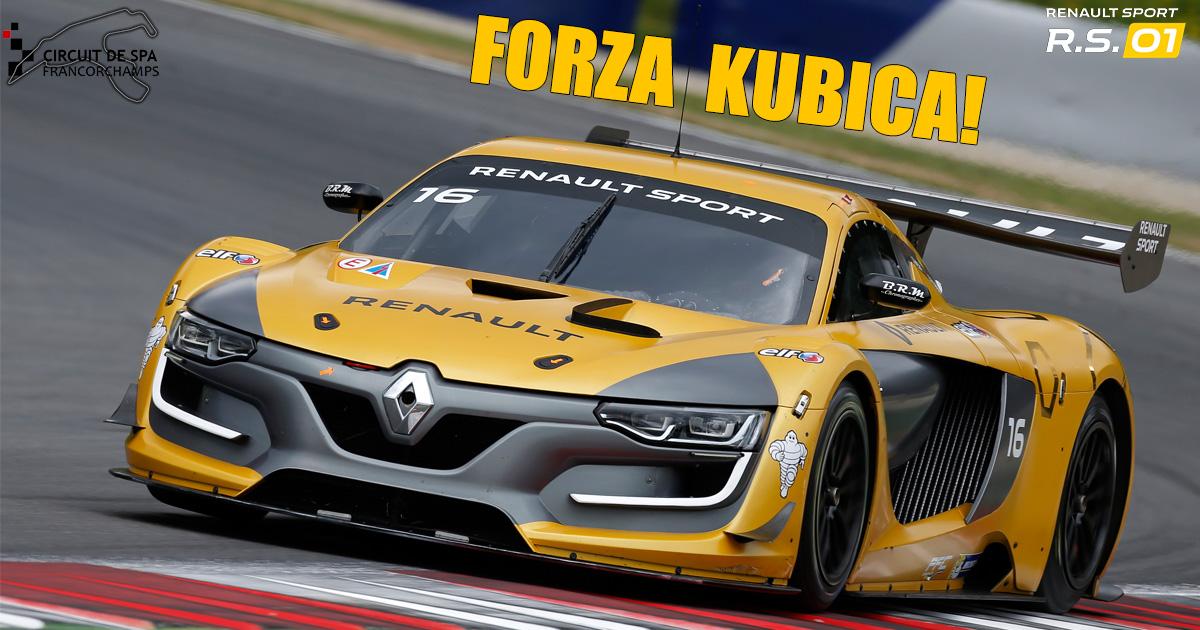 Kubica i Hamon trenują przed Renault Sport Trophy : Piątek