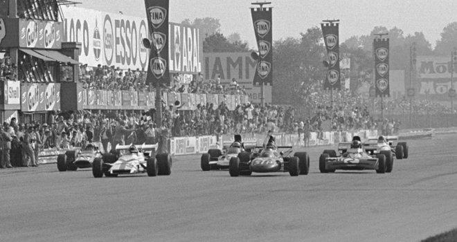 Peter Gethin finish Monza 1971