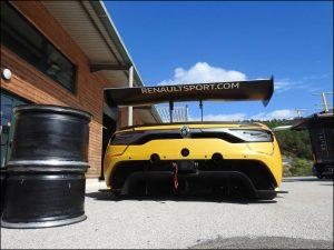 Robert Kubica & Christophe Hamon - Renault Sport R.S. 01 Renault Sport Trophy - 190916-03 Duqueine Engineering