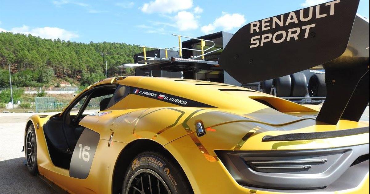 Robert Kubica i przygotowania do startu w Renault Sport Trophy [Zdjęcia]