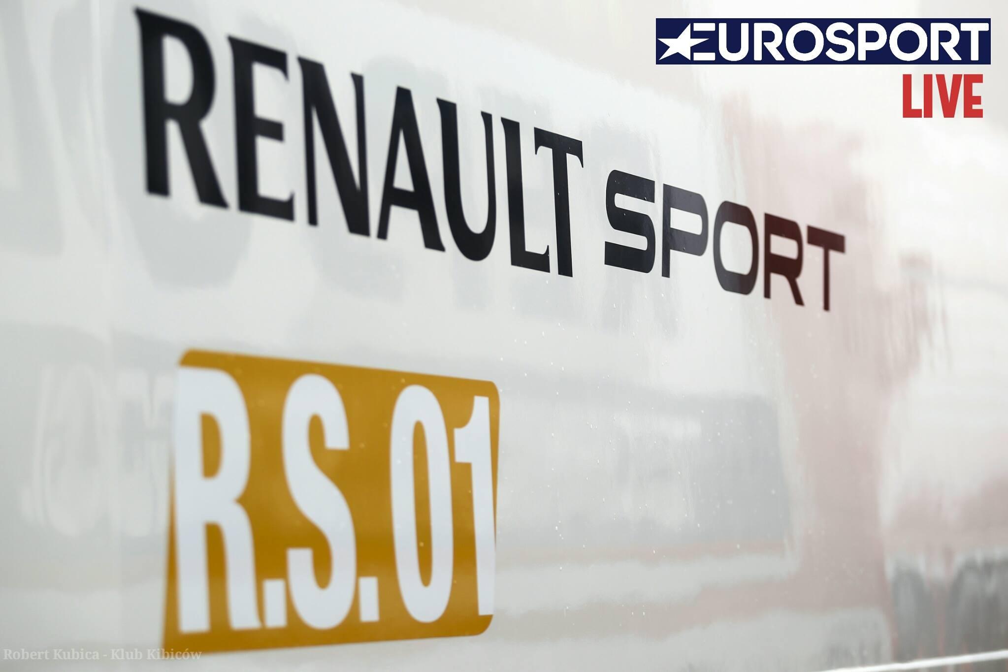 Robert Kubica transmisja z Renault Sport Trophy na żywo w Eurosport